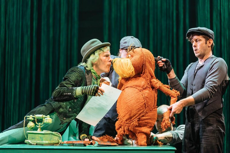 The Lorax Cast | The Old Vic