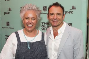 Emma Rice and Matthew Warchus (Artistic Director)