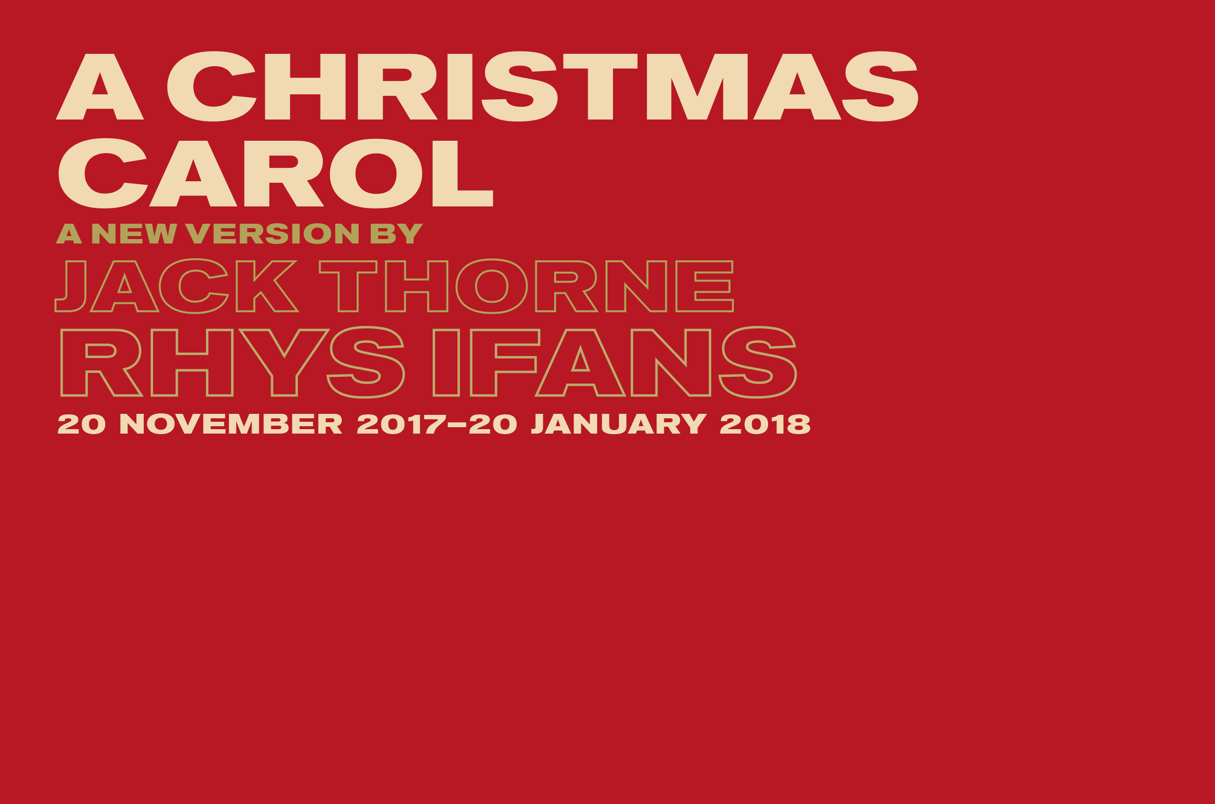 A Christmas Carol | The Old Vic