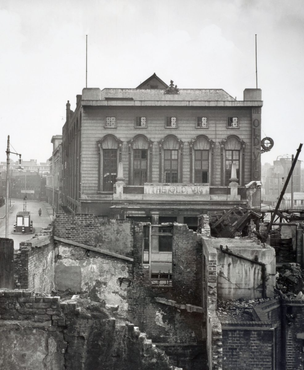 The Old Vic And The Second World War Bomb The Old Vic