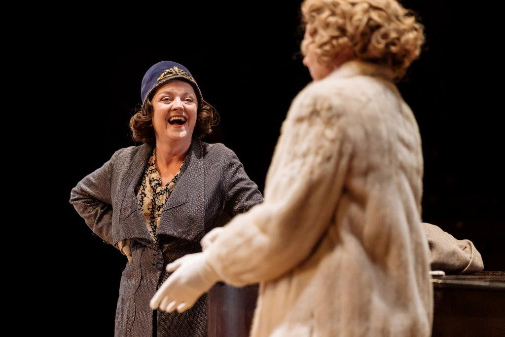 Julie Jupp and Claire Burt in The American Clock