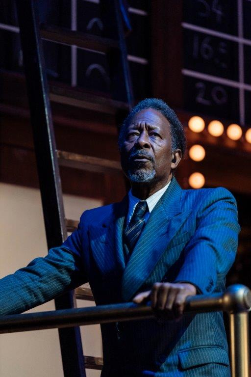 Clarke Peters in The American Clock