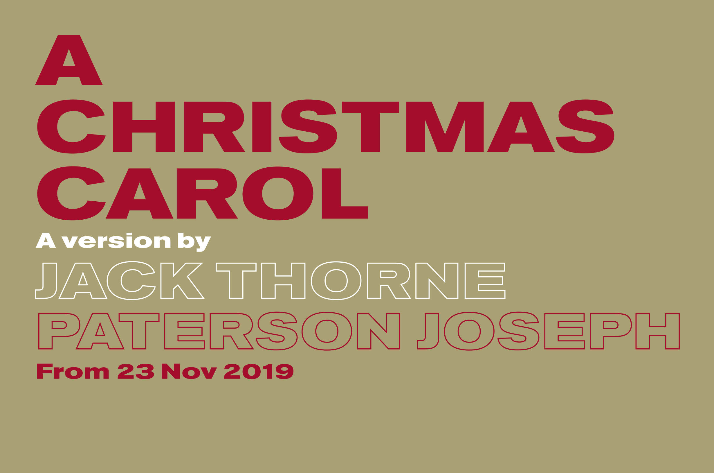 A Christmas Carol 2019 Cast The Old Vic