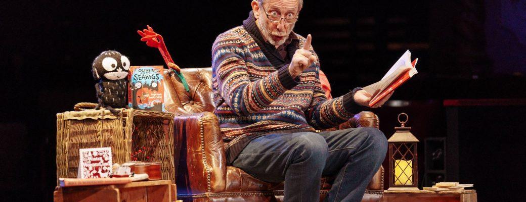 Michael Rosen at Christmas Storytelling