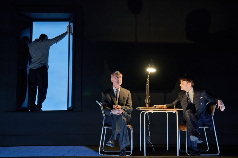 Alan Cumming and Daniel Radcliffe in Rough For Theatre II